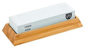 Messer schärfen Schleifstein