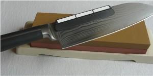 Messer schärfen Schleifstei