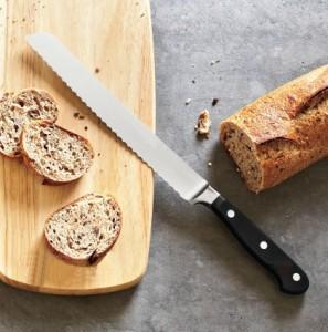 Brotmesser schärfen