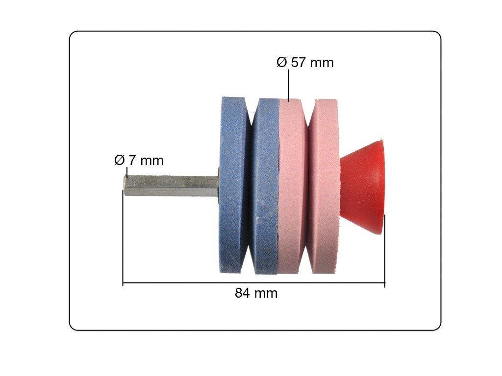 Messerschärfer Bohrmaschine Schleifer 2