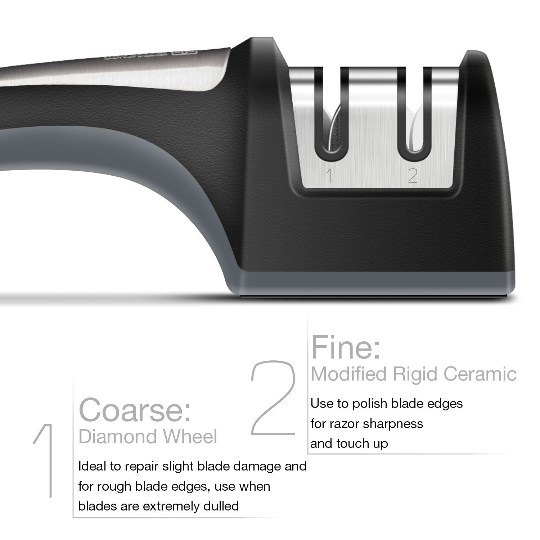 Messerschärfer für Filetiermesser